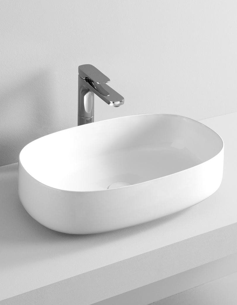 Umywalka nablatowa ceramiczna Sanitti ART 55