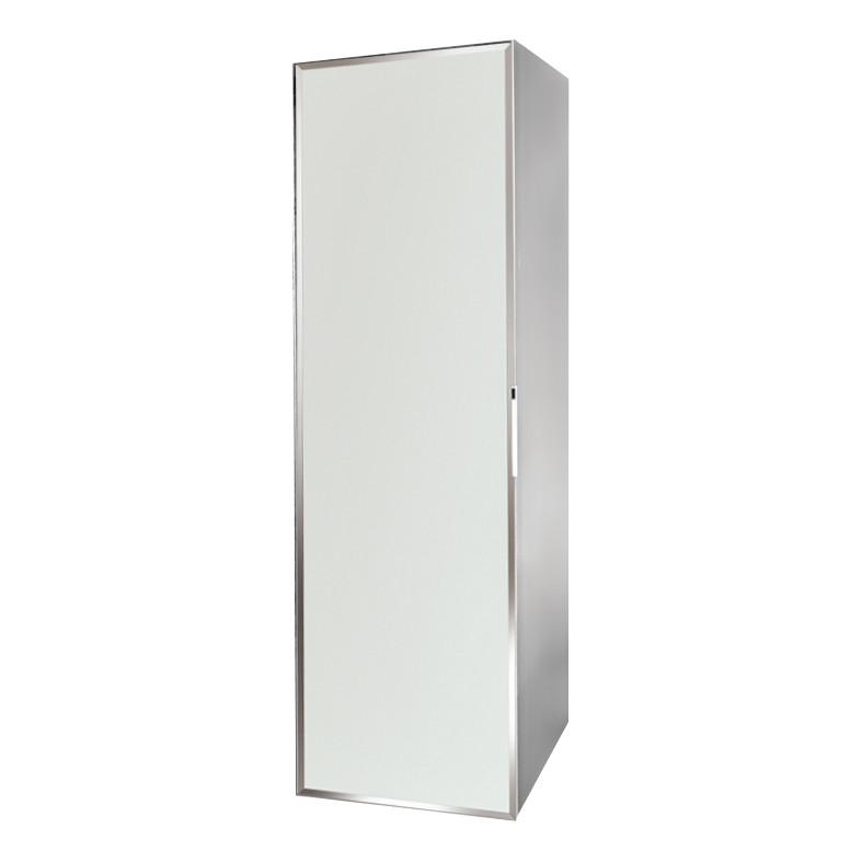 Regał łazienkowy Sanitti Delta kolor frontu biały
