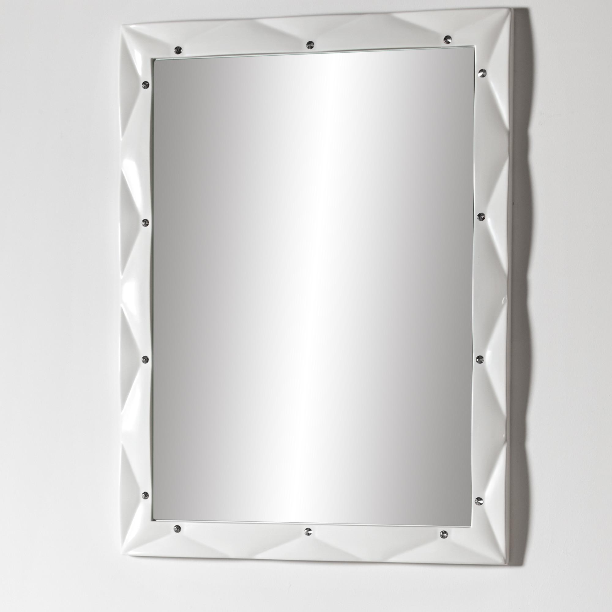 Lustro łazienkowe Sanitti Lira LL-80/60/SVS z kryształkami Swarovskiego