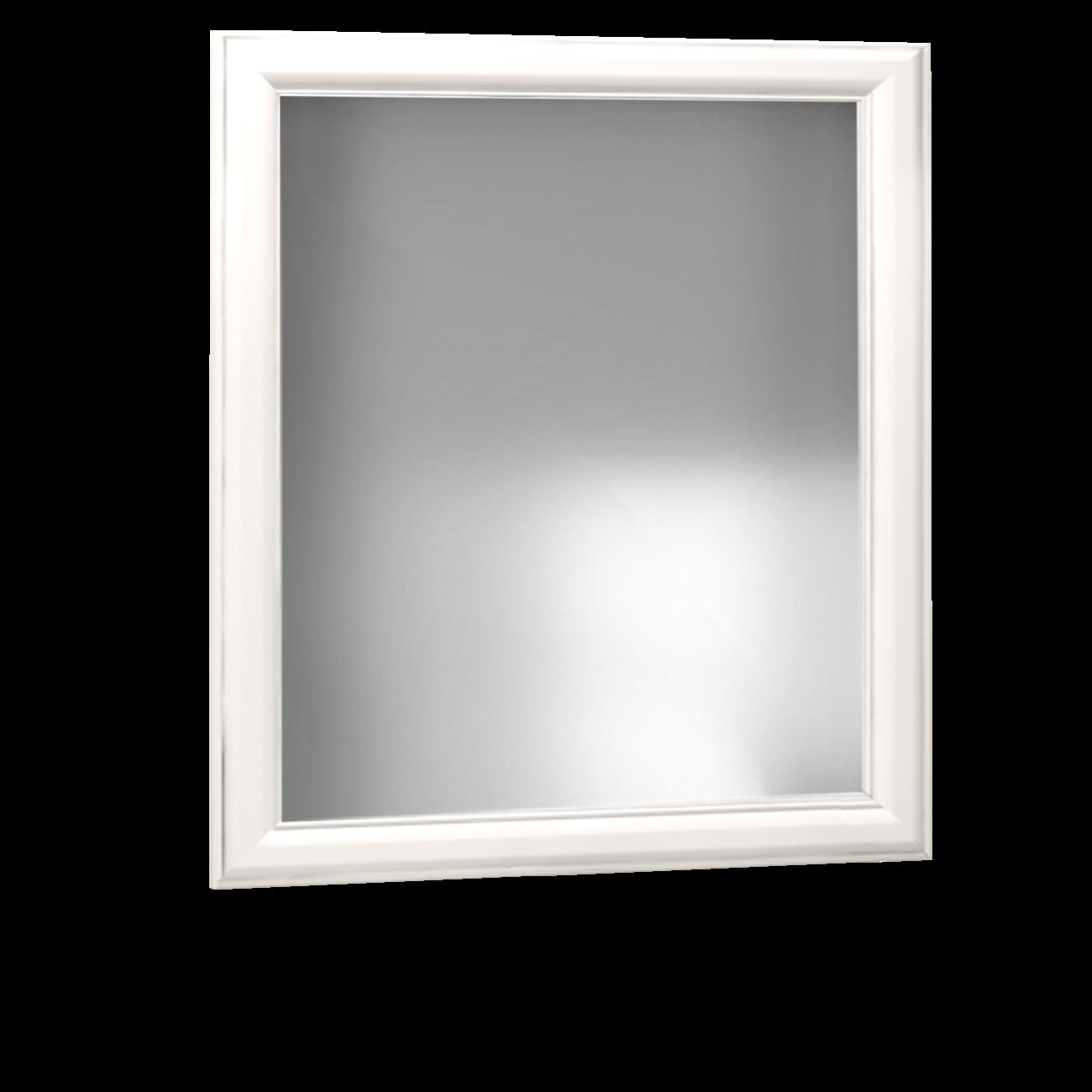 Lustro łazienkowe Sanitti Gamma GLB-70/80 białe ramki