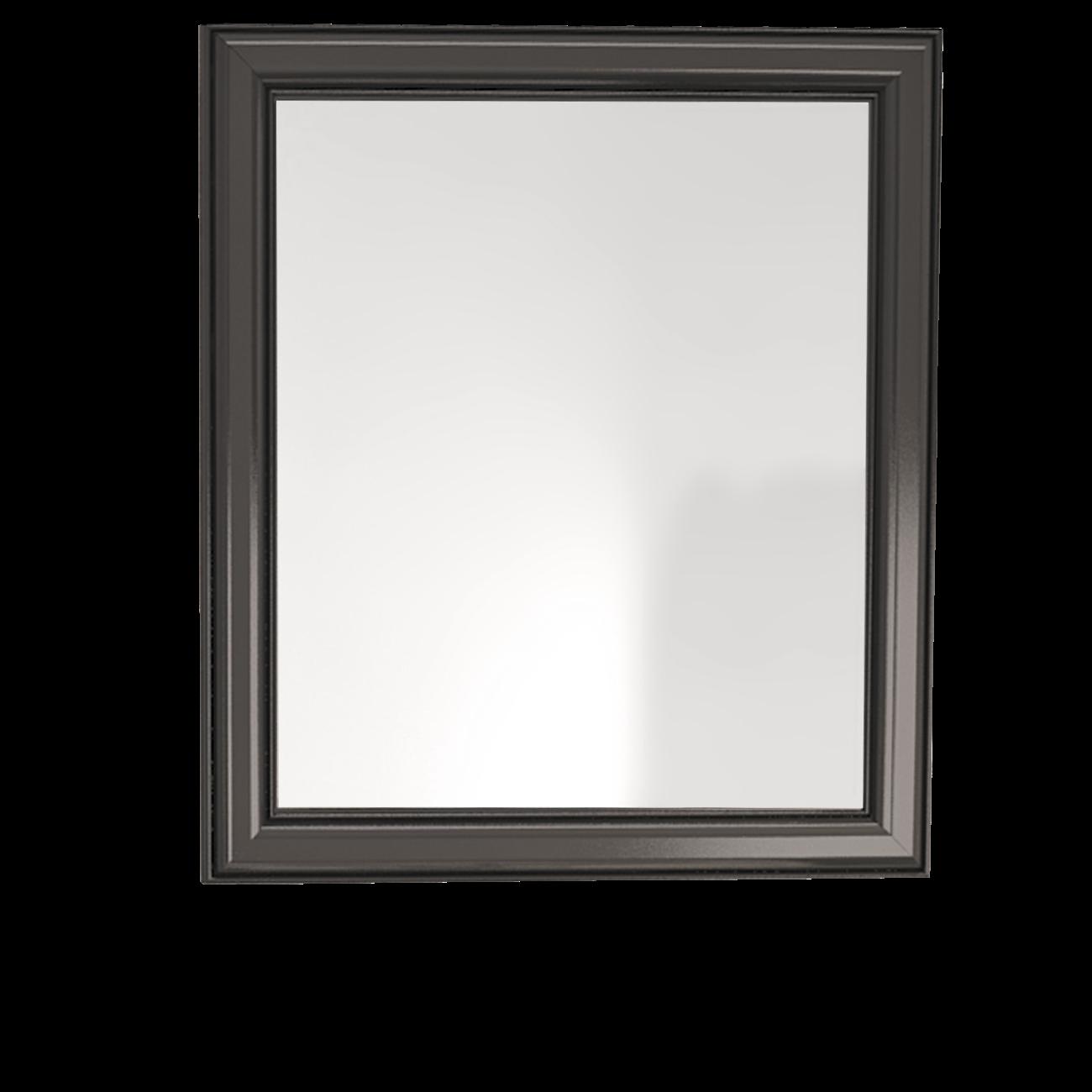 Lustro łazienkowe Sanitti Gamma GLC-70/80 czarne ramki