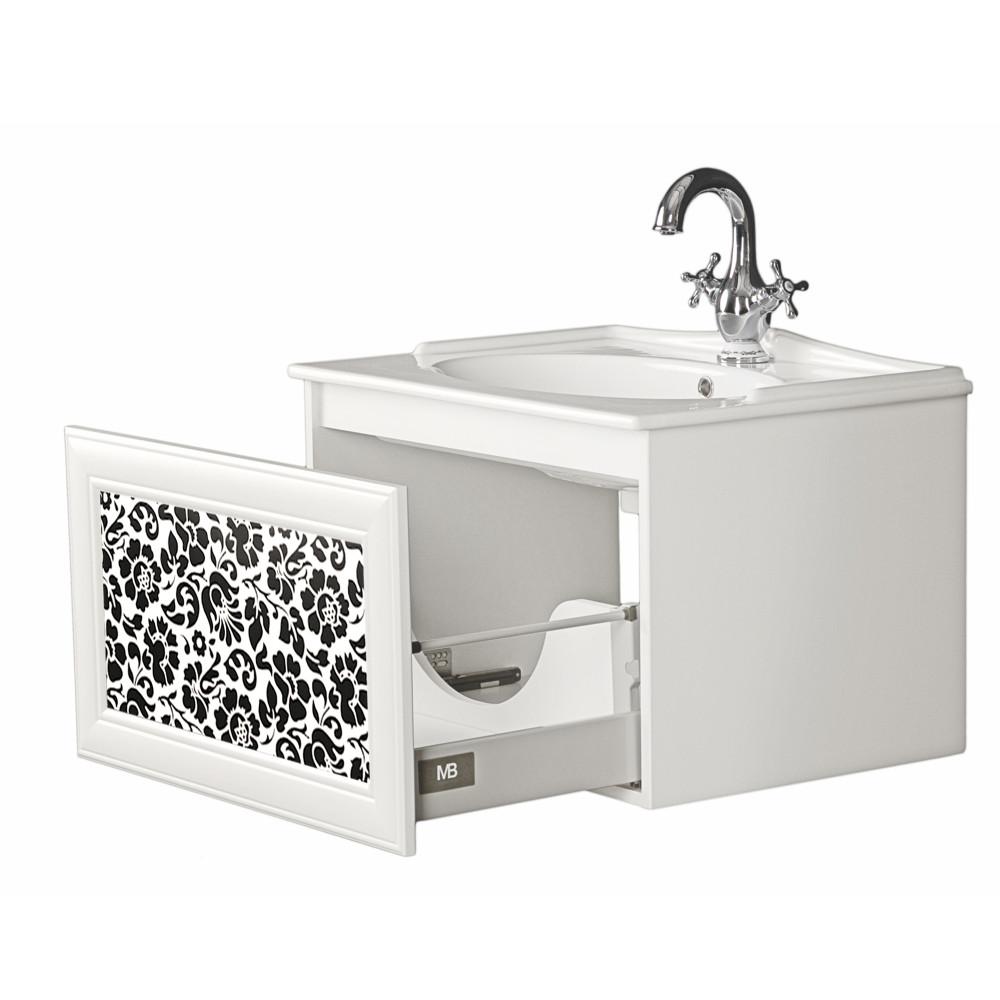 Szafka pod umywalkę z głęboką szufladą