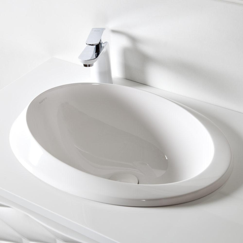 Umywalka wpuszczana Sanitti Otto