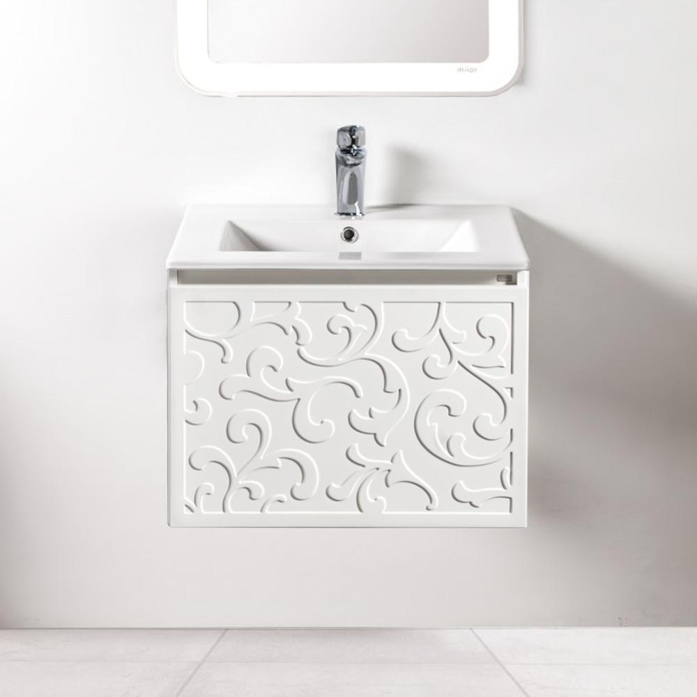 Szafka łazienkowa Sanitti Floro 60 cm z umywalką UMW-60