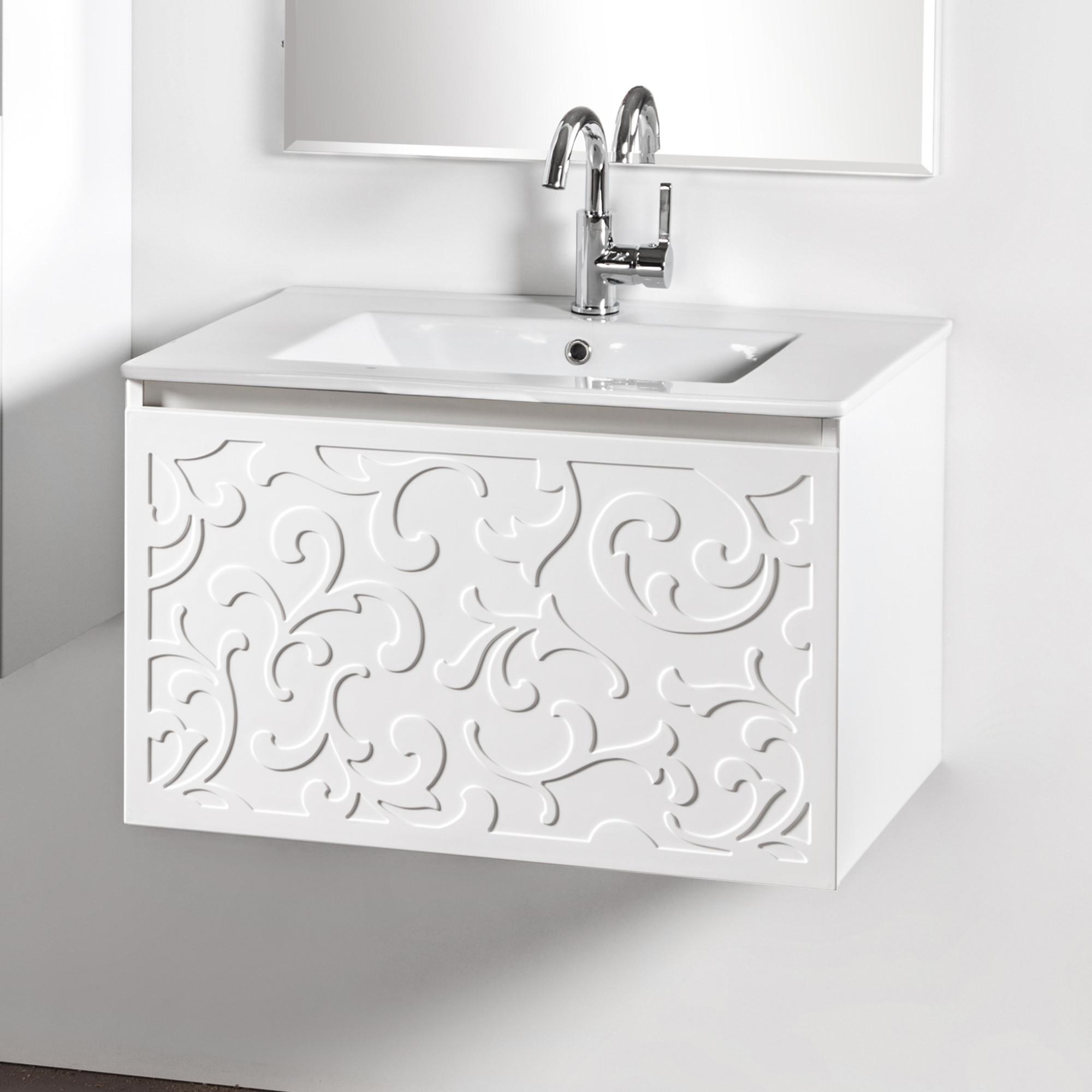 Szafka łazienkowa Sanitti Floro 70 cm z umywalką UMW-70